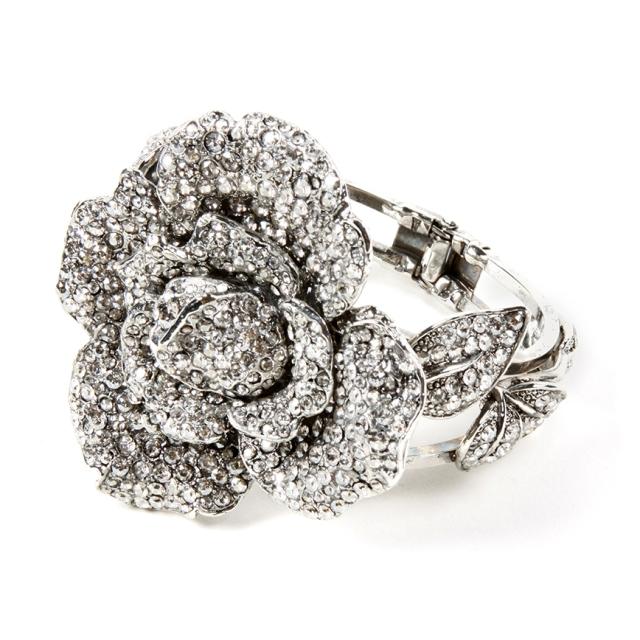 2589B Rosa bracelet ant silv-silv shade